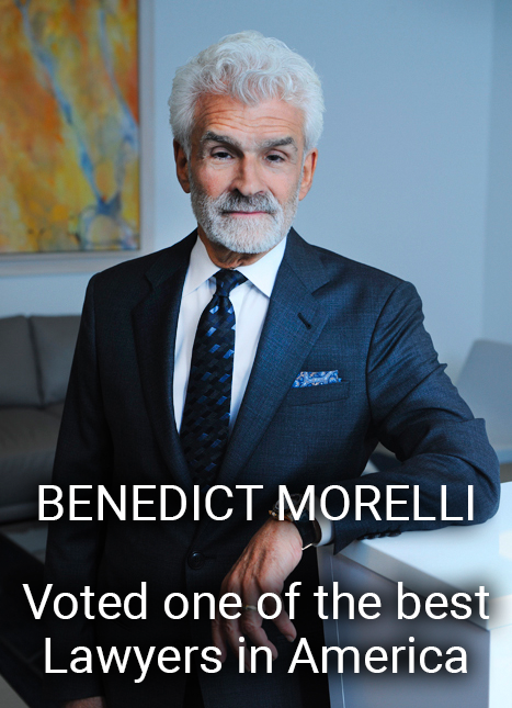 Benedict Morelli- Award Winning Attorney